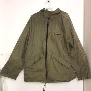 Polo Ralph Lauren Camo Army Hooded Zip Up Jacket